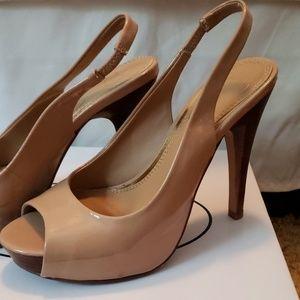 Jessica Simpson Nude Heels (Slingbacks)